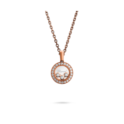 Happy Diamonds Icons Rose Gold Diamond Pendant