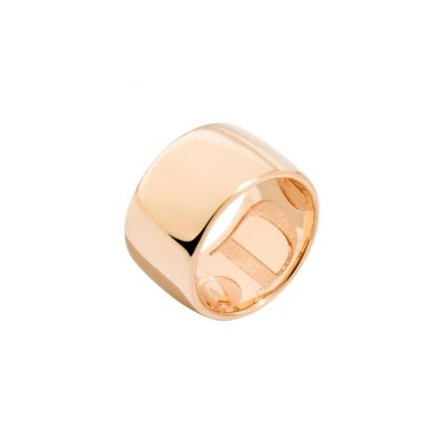 ANELLO TELL YOUR STORY. Oro rosa 9kt.
