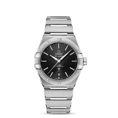 CONSTELLATION OMEGA CO‑AXIAL MASTER CHRONOMETER 39 MM ACC/ACC BLACK