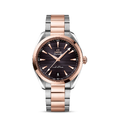 AQUA TERRA 150M OMEGA CO‑AXIAL MASTER CHRONOMETER 41 MM ACC/GOLD