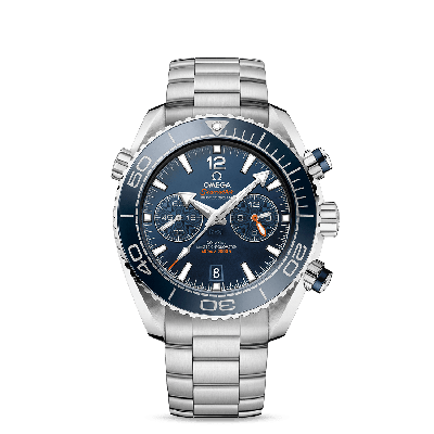 PLANET OCEAN 600M OMEGA CO‑AXIAL MASTER CHRONOMETER CHRONOGRAPH 45,5 MM ACC(ACC BLU