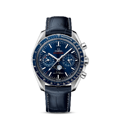 MOONWATCH OMEGA CO‑AXIAL MASTER CHRONOMETER MOONPHASE CHRONOGRAPH 44,25 MM BLU