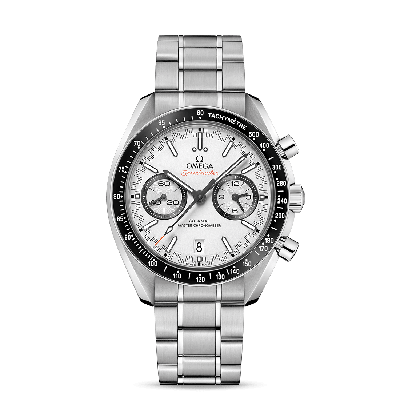 RACING OMEGA CO‑AXIAL MASTER CHRONOMETER CHRONOGRAPH 44,25 MM WHITE