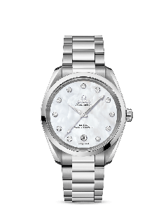 AQUA TERRA 150M OMEGA CO‑AXIAL MASTER CHRONOMETER 38 MM DONNA