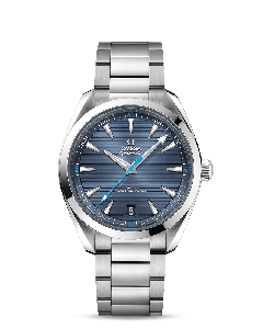 AQUA TERRA 150M OMEGA CO‑AXIAL MASTER CHRONOMETER 41 MM BLU