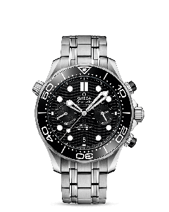 DIVER 300M OMEGA CO‑AXIAL MASTER CHRONOMETER CHRONOGRAPH 44 MM BLACK