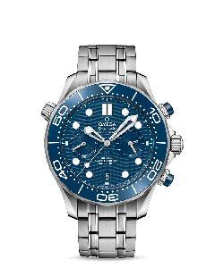 DIVER 300M OMEGA CO‑AXIAL MASTER CHRONOMETER CHRONOGRAPH 44 MM ACC/ACC