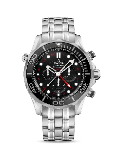 DIVER 300M CO‑AXIAL GMT CHRONOGRAPH 44 MM
