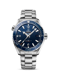 PLANET OCEAN 600M OMEGA CO‑AXIAL MASTER CHRONOMETER 43,5 MM BLU
