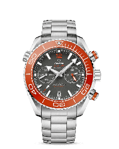 PLANET OCEAN 600M OMEGA CO‑AXIAL MASTER CHRONOMETER CHRONOGRAPH 45,5 MM ORANGE
