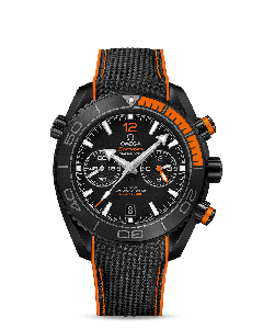 PLANET OCEAN 600M OMEGA CO‑AXIAL MASTER CHRONOMETER CHRONOGRAPH 45,5 MM BLACK/ORANGE